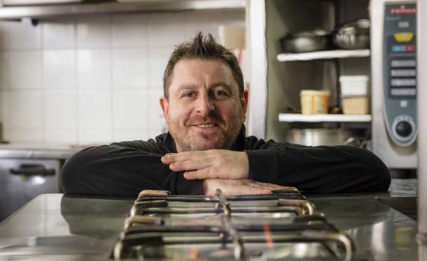 Le chef Olivier Bellin
